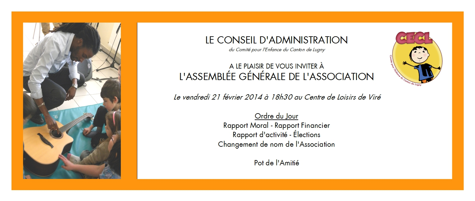 invitation maire assemblee generale association