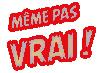Logo Même pas Vrai - Fête des Livres 2014 - CECL