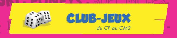 Club-Jeux - CECL -Rentrée 2014 - CLessé