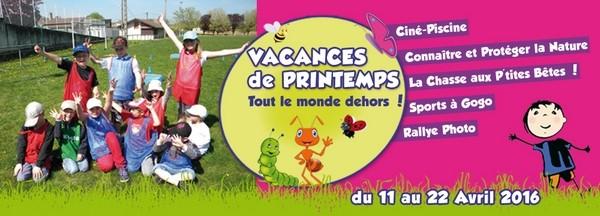 CECL - Centre de Loisirs de Viré - Vacances de Printemps 2016